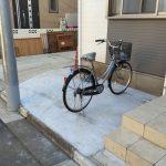 自宅に置いていた自転車を盗まれた