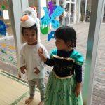 ハロウィンと子供の誕生日と芋掘り