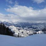 初めてのスキーをやりに一人でスキー場に行き、一人でレッスンを受けた