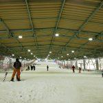 3月の狭山スキー場はそれほど混雑していなかった