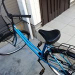 自宅で盗まれた自転車が返ってきた!